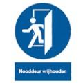 Nooddeur_vrijhouden