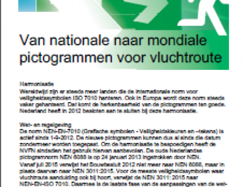 NVFN publiceert Kennisblad 'uitfasering pictogramnorm 6088'
